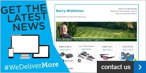 Newsletter Barry Middleton